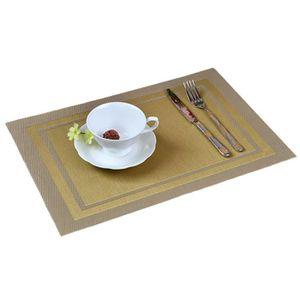 set de table or achat vente set de table or pas cher cdiscount. Black Bedroom Furniture Sets. Home Design Ideas