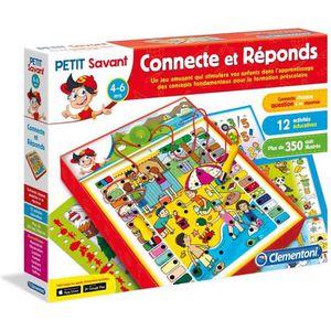 TABLE JOUET D'ACTIVITÉ CLEMENTONI Connecte et Réponds