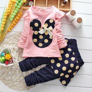 Ensemble de vêtements Enfant filles Ensemble de vêtements 2-5ans