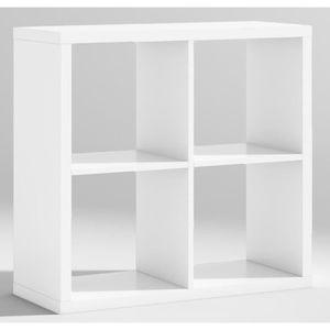 Etagere bois blanc pour une entree achat vente etagere bois blanc pour un - Etagere en bois blanc ...