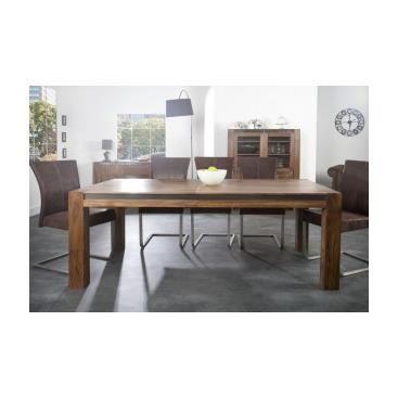Table de repas de salle manger design rectangulaire for Table de salle a manger rectangulaire