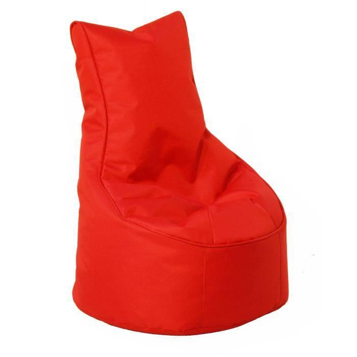 pouf junior comfort rouge achat vente pouf poire. Black Bedroom Furniture Sets. Home Design Ideas