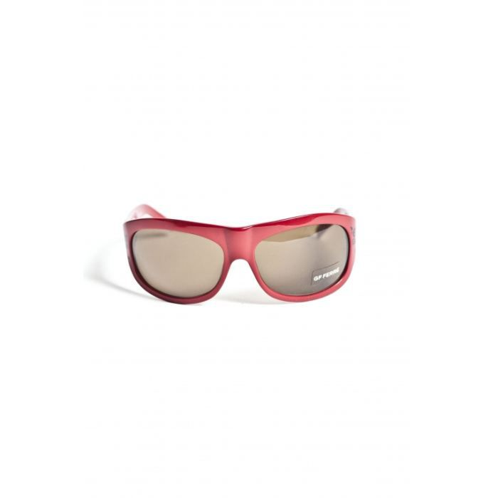ferre gianfranco lunettes de soleil femme rouge rouge achat vente lunettes de soleil femme. Black Bedroom Furniture Sets. Home Design Ideas