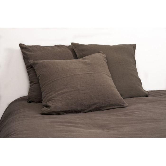 drap lin lav kaki 270x310cm viti harmony achat vente drap plat cdiscount. Black Bedroom Furniture Sets. Home Design Ideas