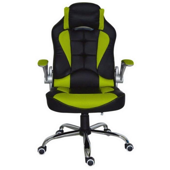 Chaise de bureau fauteil de bureau r glable ordinateur - Verin de chaise de bureau ...