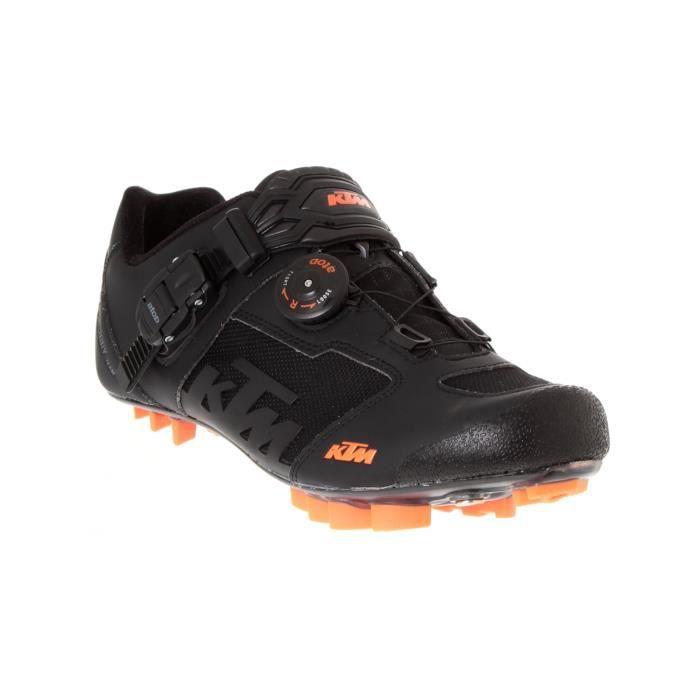 chaussure vtt ktm 2016 factory team carbon noir orange prix pas cher cdiscount. Black Bedroom Furniture Sets. Home Design Ideas