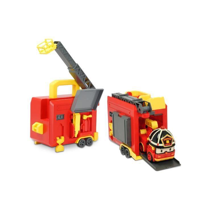 Robocar poli malette de jeu roy 2 en 1 achat vente - Robocar poli pompier ...
