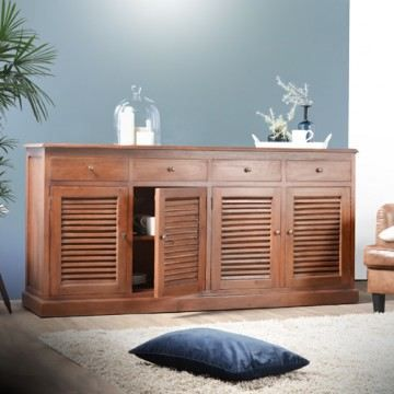 buffet en acajou 185 loggia quatro achat vente buffet. Black Bedroom Furniture Sets. Home Design Ideas
