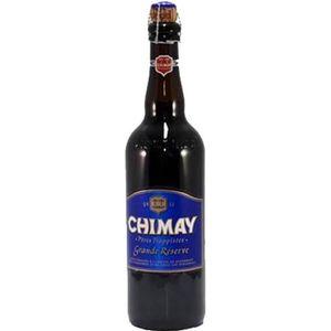 BIÈRE Chimay bleue 9° grande réserve 75cl