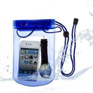 HOUSSE - CHAUSSETTE Housse Etanche Huawei Ascend P8 - Bleu
