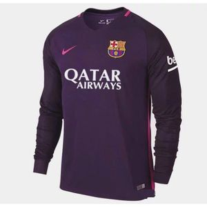 maillot barca 2017 achat vente pas cher cdiscount. Black Bedroom Furniture Sets. Home Design Ideas