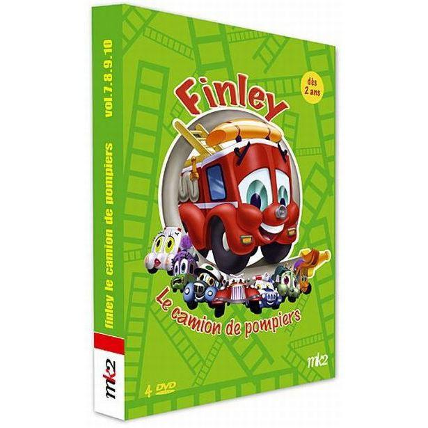 Dvd finley le camion de pompier vol 7 10 en dvd dessin anim pas cher scott joseph cdiscount - Finley le camion de pompier ...