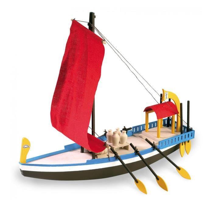 maquette bateau en bois bateau gyptien de cl op tre coloris unique achat vente maquette. Black Bedroom Furniture Sets. Home Design Ideas