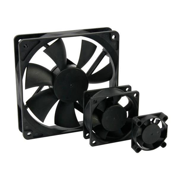 Ventilateur 12vcc Roulement Palier Lisse 70 X 70 X 15mm