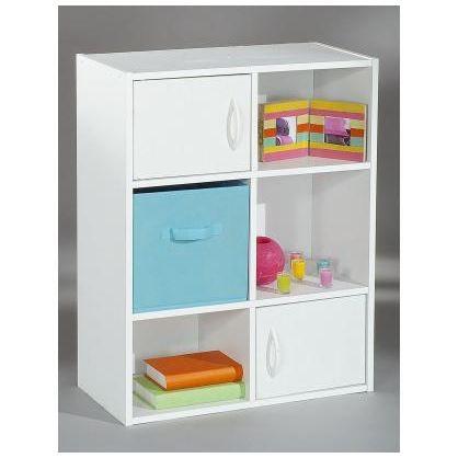 Etag re 4 casiers 2 portes module achat vente meuble - Etageres casiers rangement ...