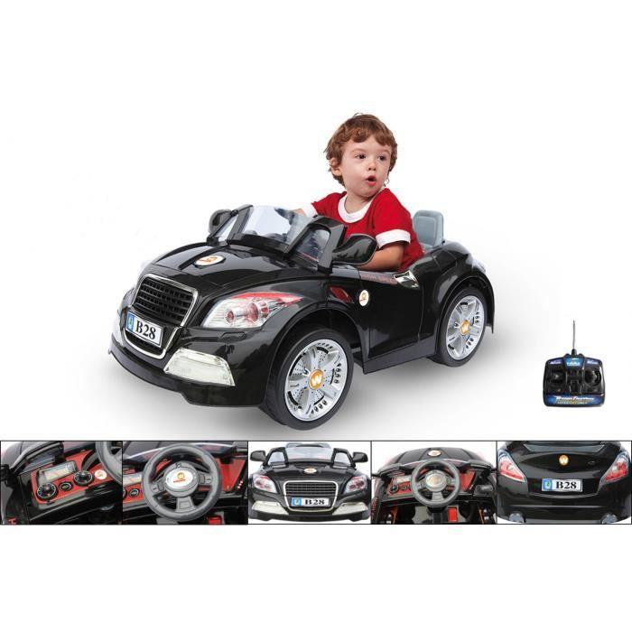 voiture lectrique 12v avec t l commande bmw noire achat vente voiture enfant voiture. Black Bedroom Furniture Sets. Home Design Ideas