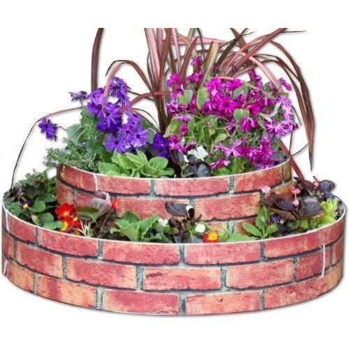 Growrings massif fleurs 2 niveaux aspect briq achat for Jardin 2 niveaux