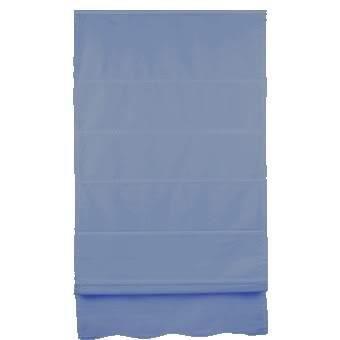 store bateau tamisant inspire bleu 45 x 250 cm achat vente store de fen tre polyester coton. Black Bedroom Furniture Sets. Home Design Ideas