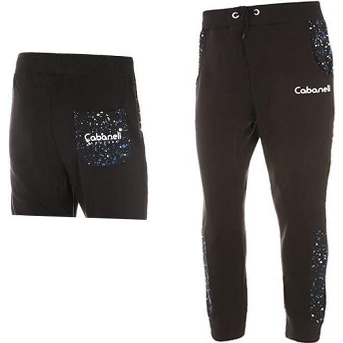 pantalon jogging sarouel homme cabaneli noir noir bleu achat vente pantalon cdiscount. Black Bedroom Furniture Sets. Home Design Ideas