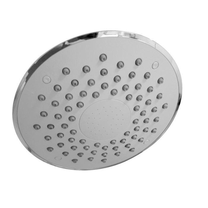 Rousseau t te de douche 200 mm spatial chrome achat vente douchette fle - Tete de douche pluie ...