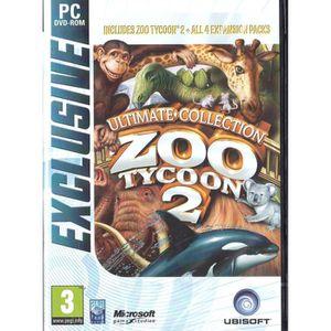 JEU PC Zoo Tycoon 2 Ultimate Collection Jeu PC