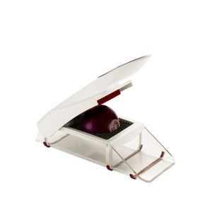 ZYLISS Coupe-oignons ZE13075 cm blanc et rouge