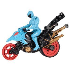 ROBOT - ANIMAL ANIMÉ POWER RANGERS Moto Cascade + Figurine 12 cm Aqua