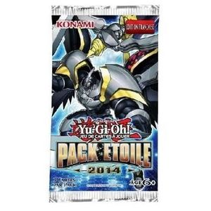 CARTE A COLLECTIONNER YU GI OH! Pack Etoile 2014 Boosters 3 Cartes