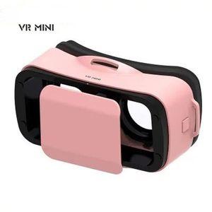 LUNETTES 3D PS rose mini Lunettes vidéo 3D réalité virtuelle a
