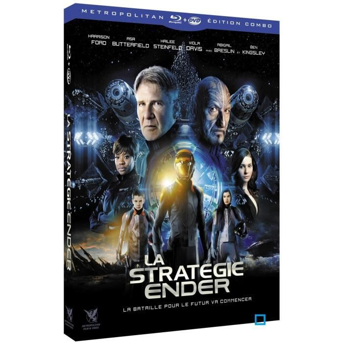 BLU-RAY FILM Blu-Ray La stratégie Ender