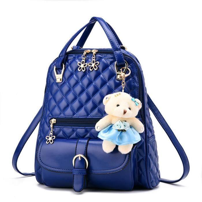 sac dos femme sac femme sac dos de marque bleu sac. Black Bedroom Furniture Sets. Home Design Ideas