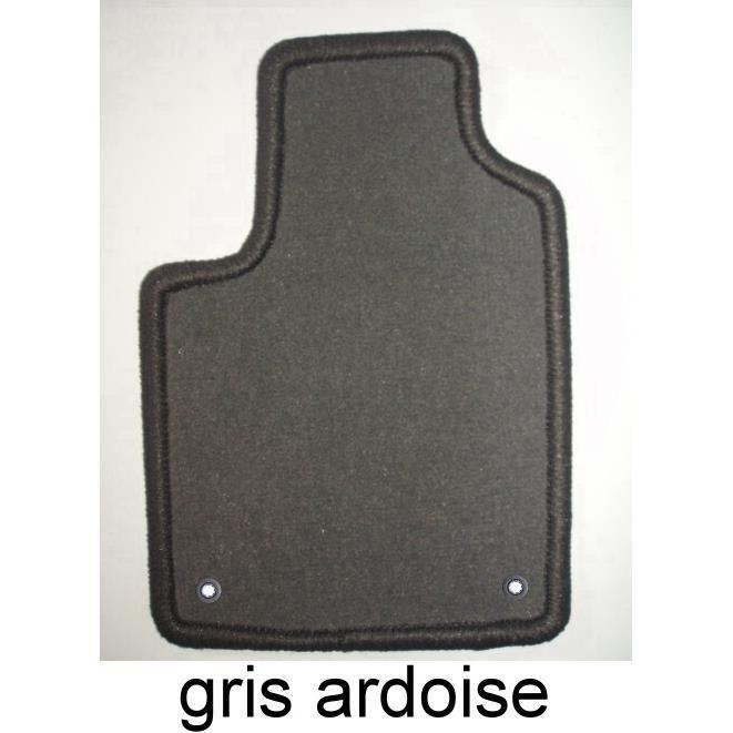 5008 5 pl. 10/09- 4 Tapis en velours gris+clip - Achat / Vente tapis ...