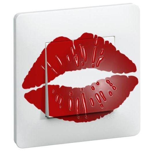 Interrupteur d cor red bouche achat vente for Interrupteur decore