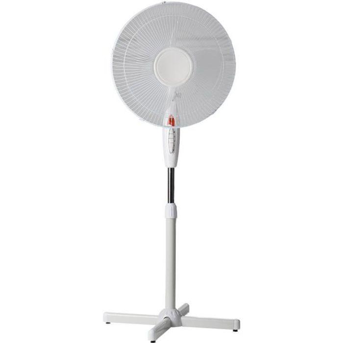 ventilateur sur pied 40cm achat vente ventilateur sur pied 40cm pas cher les soldes sur. Black Bedroom Furniture Sets. Home Design Ideas