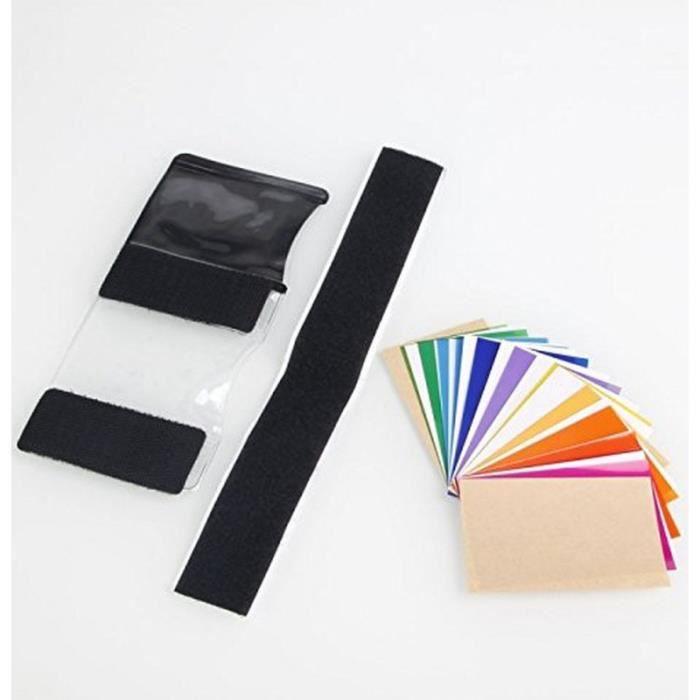 lot de 12 filtres couleur neutre pour flash slr achat. Black Bedroom Furniture Sets. Home Design Ideas