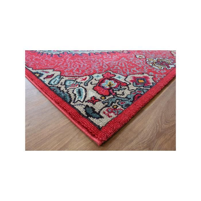 benuta tapis orient colores rouge 160x230 cm achat. Black Bedroom Furniture Sets. Home Design Ideas