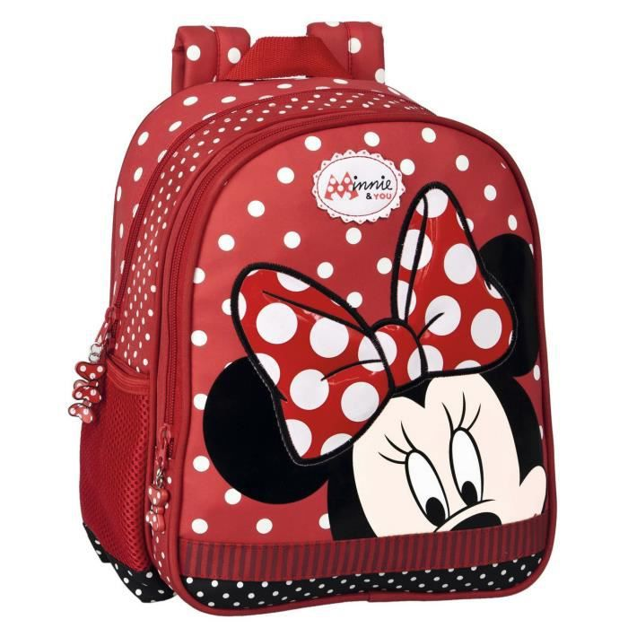 sac dos enfants filles minnie you disney cole maternelle cr che loisirs jolie sac rouge. Black Bedroom Furniture Sets. Home Design Ideas