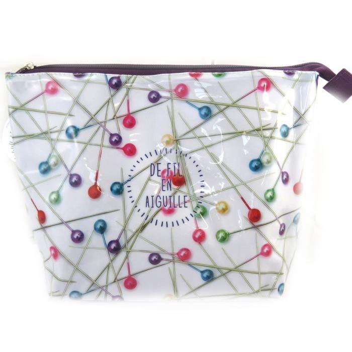 Les tr sors de lily m4707 trousse couture de fil en for Aiguille a couture