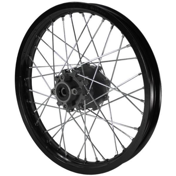 moto noir roue arri re frein disque pour pulse adrenaline 125 achat vente roue. Black Bedroom Furniture Sets. Home Design Ideas