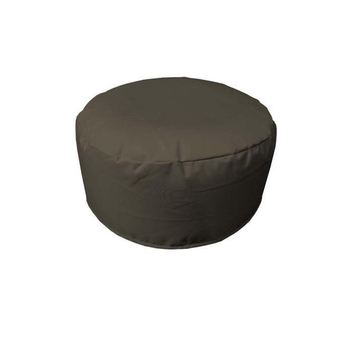 pouf gonflable garden gris achat vente pouf poire. Black Bedroom Furniture Sets. Home Design Ideas