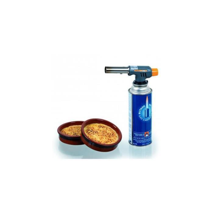 Cartouche de gaz 400ml pour chalumeau pro cuisine achat - Chalumeau pour cuisine ...