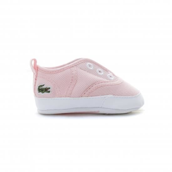 b9a8314e508 8378 chaussures lacoste carnaby evo bebe noire vue exterieure