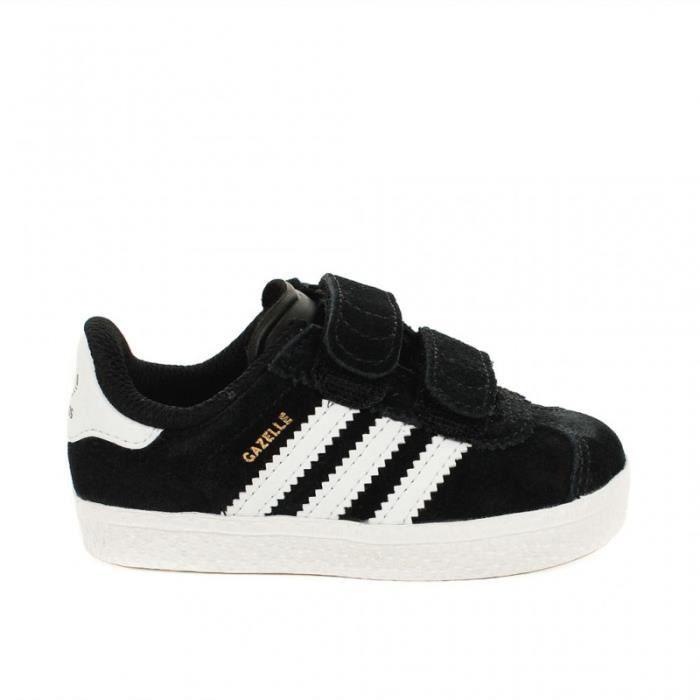 adidas gazelle enfant,chaussures adidas gazelle c enfant noire vue par paire