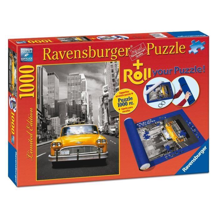 Puzzle 1000 pi ces taxi new york tapis de puzzle - Grand tapis new york ...