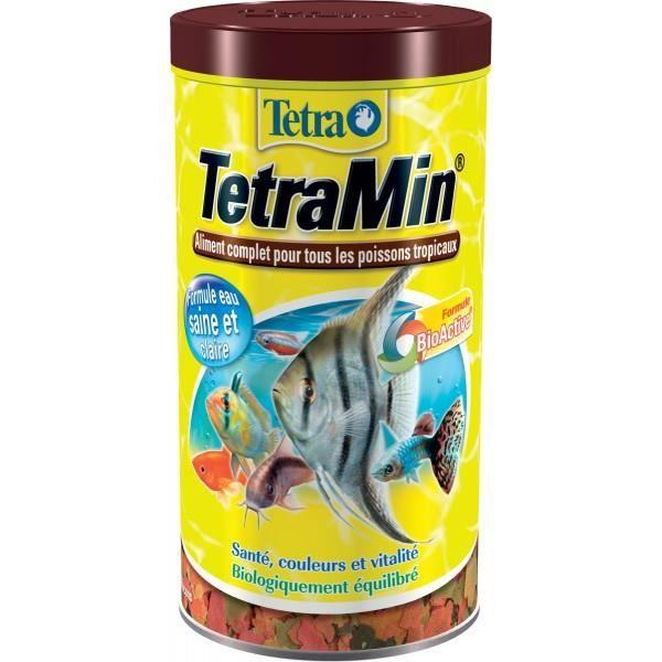 Nourriture pour poisson tetramin achat vente flocons for Flocon pour poisson