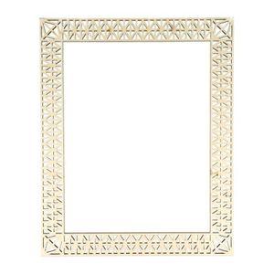 Support à décorer ARTEMIO Template cadre géométrique en bois 18 x 24