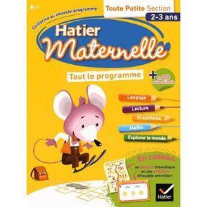 MANUEL MATERNELLE  Tout le programme Toute petite Section