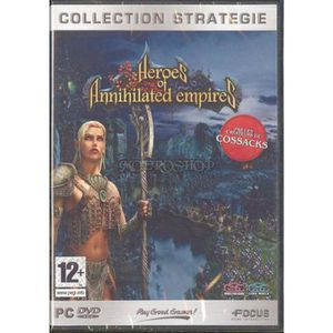 JEU PC PC HEROES OF ANNHILATED SILVER