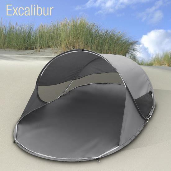 Tente de plage abri soleil auvent camping 2 places pliable achat vente parasol ombrage - Tente de plage ikea ...