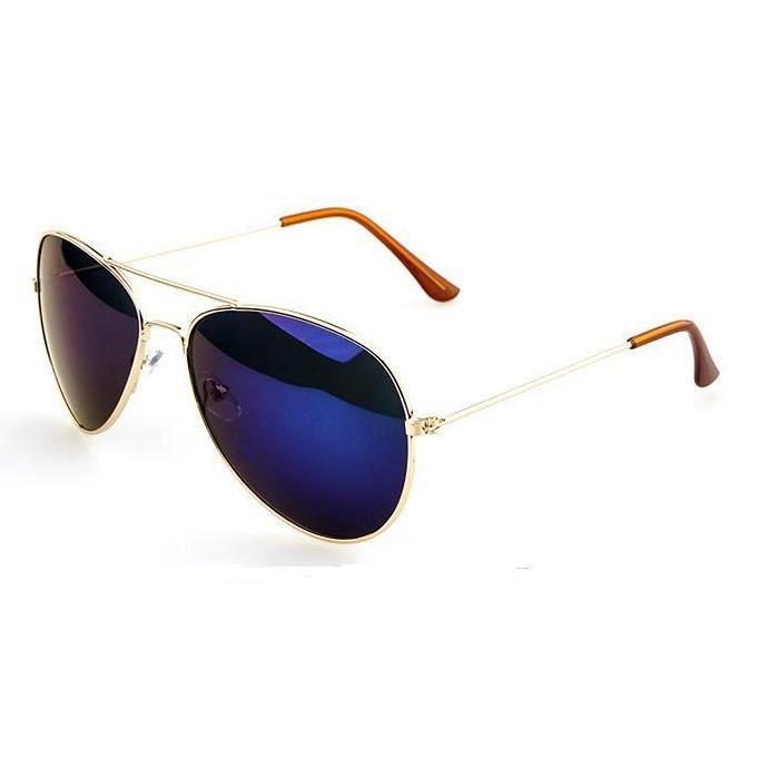 cadre d 39 or pour lunettes lunettes de soleil bleu or bleu. Black Bedroom Furniture Sets. Home Design Ideas